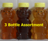 3 Pack Honey Assortment - Your Choice - Save 10%